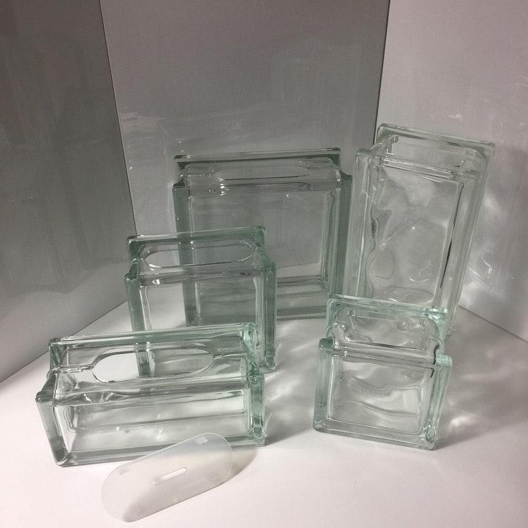Glasblock 24x12cm Våg
