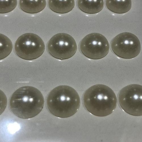 Chrystal - Pärla Vit 9 mm -120 st