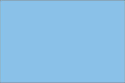 Premium Himmelsblå - 1065 50 cm bred metervara