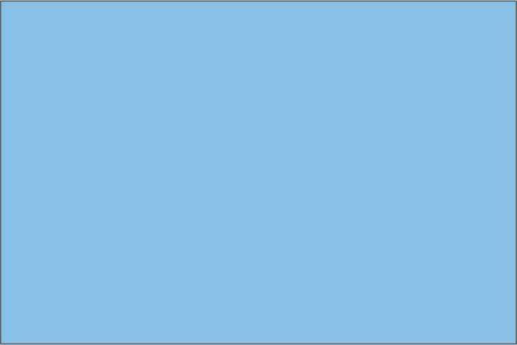 Premium Himmelsblå - 1065 50 cm bred