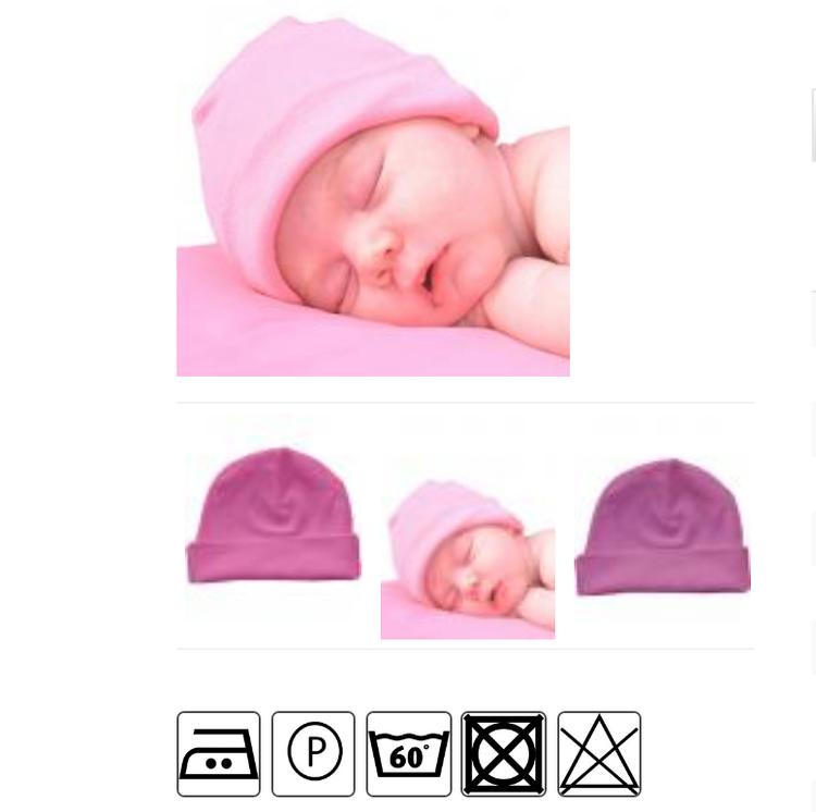 Babymössa - Rosa
