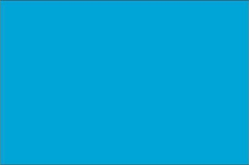 Premium Neon Blå - Ark 1003 50 cm bred metervara