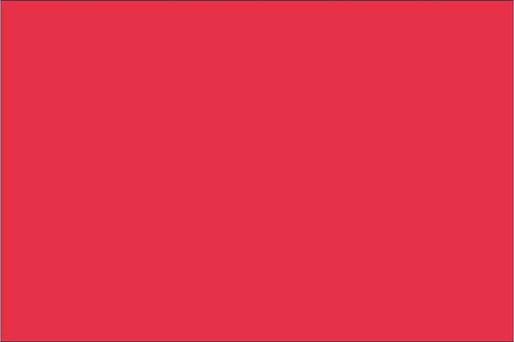 Premium Neonröd - 1044 50 cm bred metervara