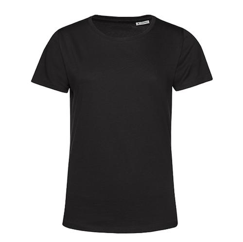T-Shirt B&C Women - Svart