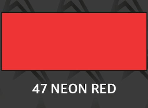 Premium neon röd - 1047 50cm MV