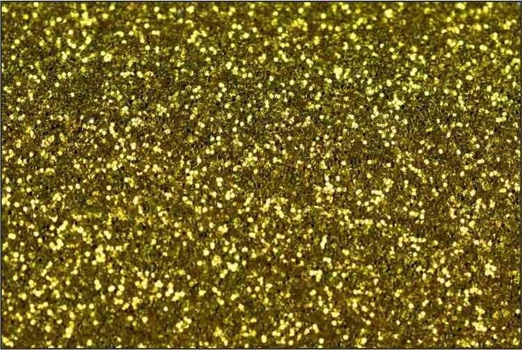 PET Glitter Gul - 6018