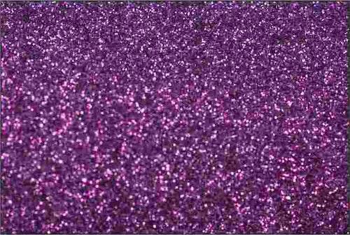 PET Glitter Lavendel - 6077