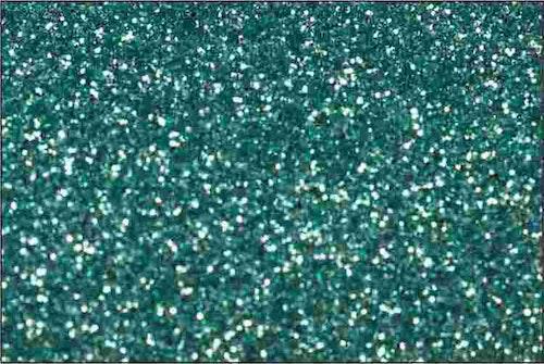 PET Glitter Aquablå - 6068