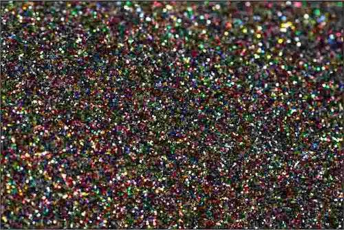 PET Glitter Multifärg - 6099