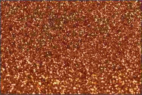 PET Glitter Koppar - 6097