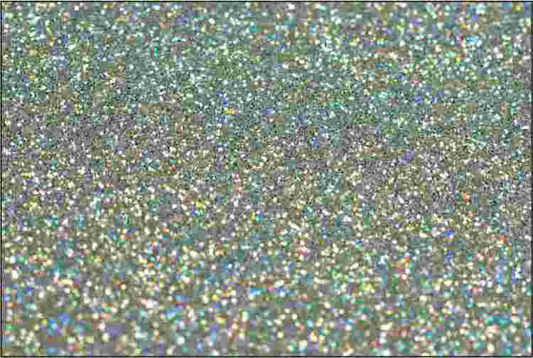 PET Glitter Silvermix - 6130