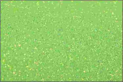 PET Glitter Neongrön - 6141