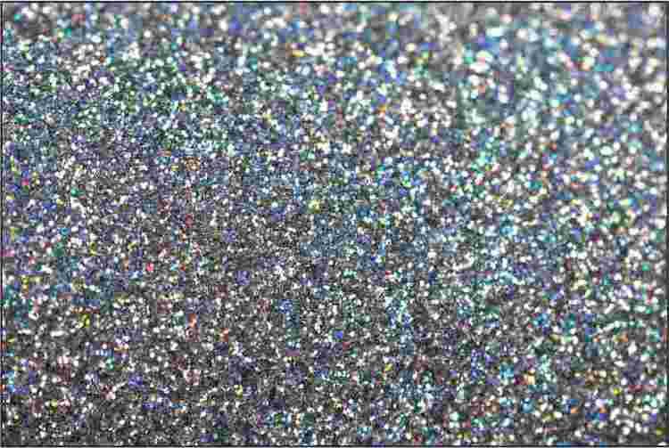 PET Glitter Färgmix - 6199