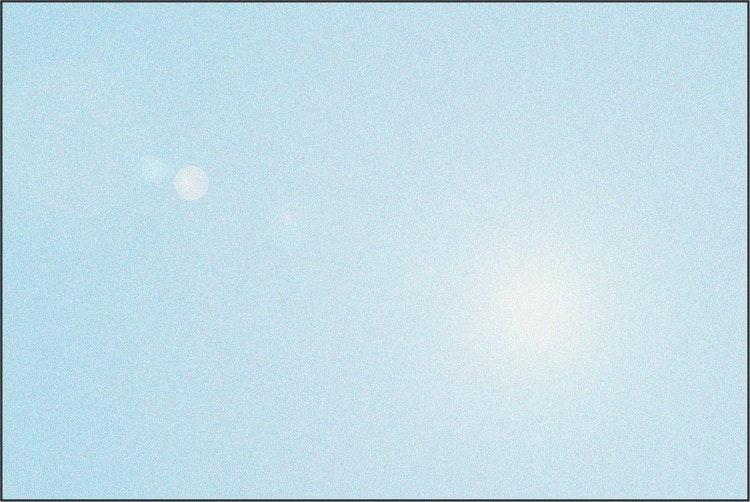Himmelsblå reflexvinyl - 6465