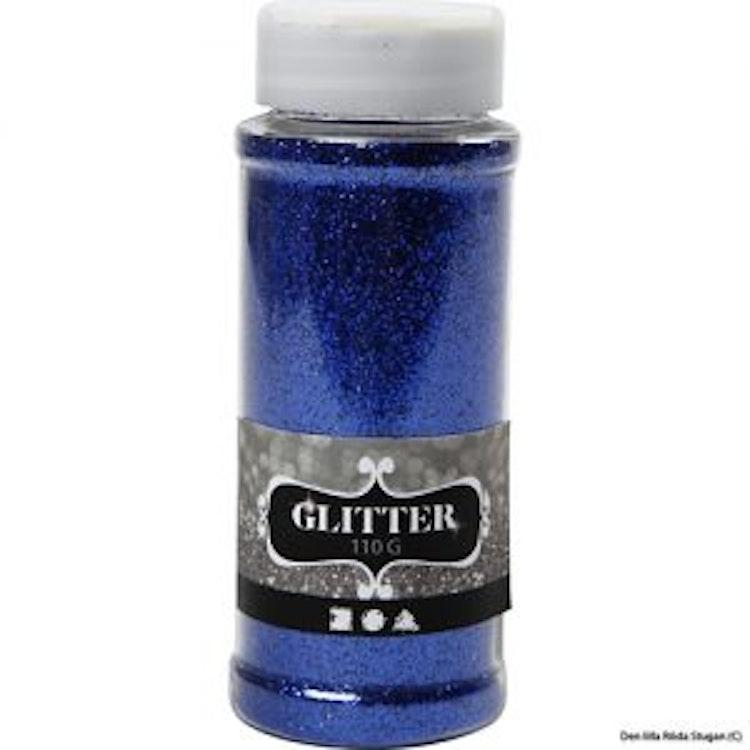 Glitterpulver - Blå