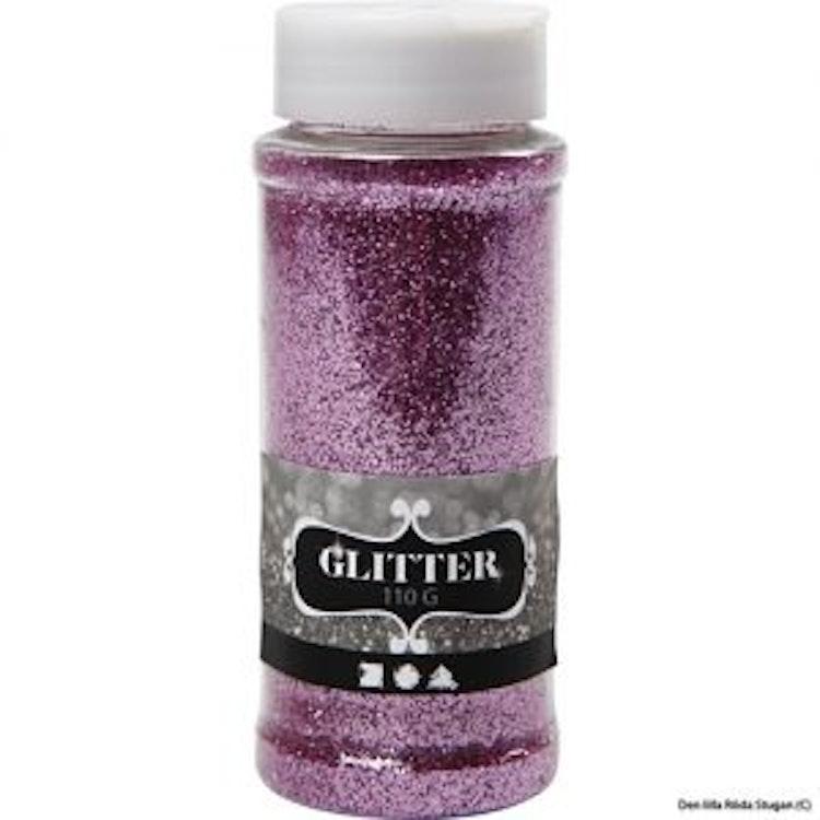 Glitterpulver - Pink/Ljuslila
