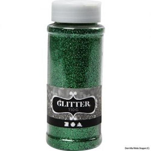 Glitterpulver - Grön