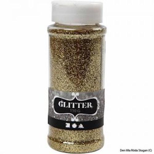 Glitterpulver - Guld