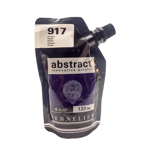 Akrylfärg Sennelier Abstract - Hög pigmentering - Purple 917