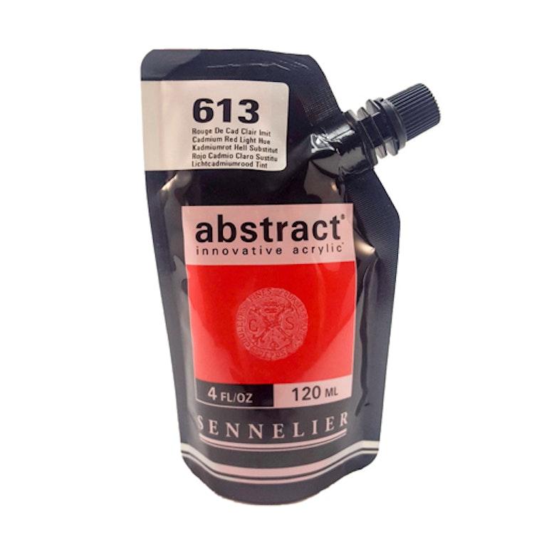 Akrylfärg Sennelier Abstract - Hög pigmentering - Cad Red Light Hue 613