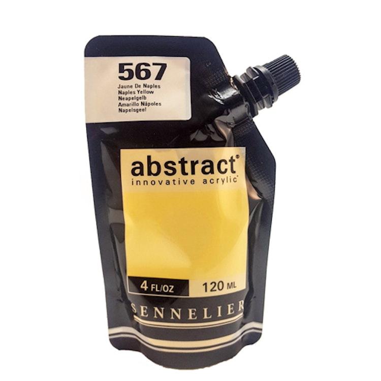 Akrylfärg Sennelier Abstract - Hög pigmentering - Naples Yellow 567