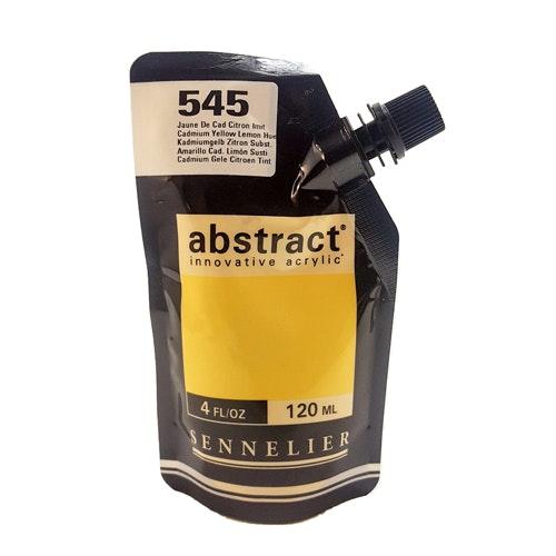 Akrylfärg Sennelier Abstract - Hög pigmentering - Cad Yellow Lemon Hue 545