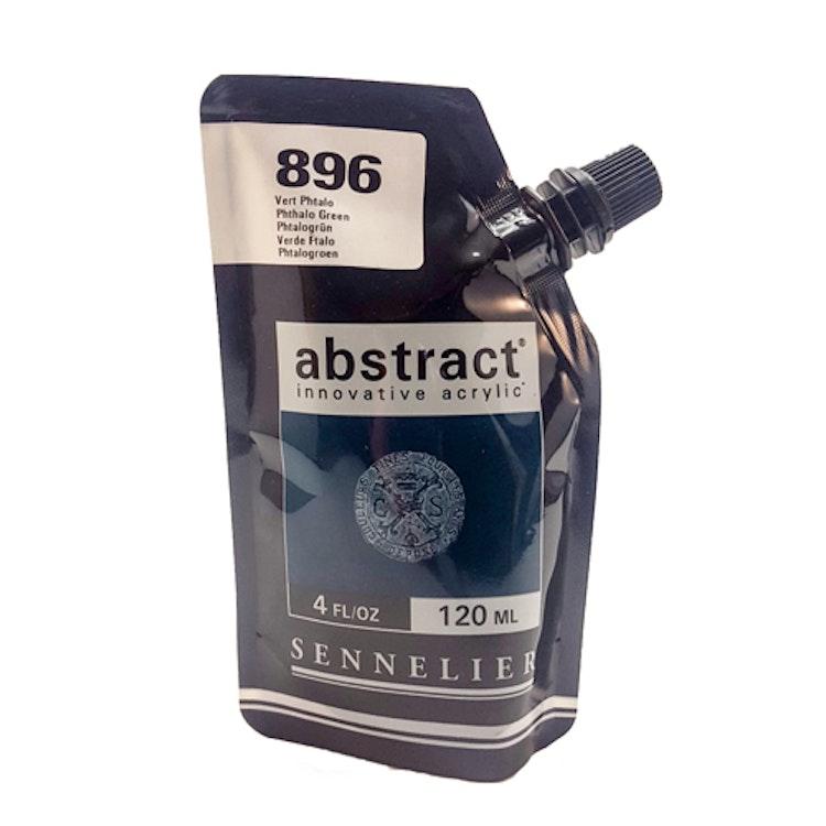 Akrylfärg Sennelier Abstract - Hög pigmentering - Phthalo Green 896