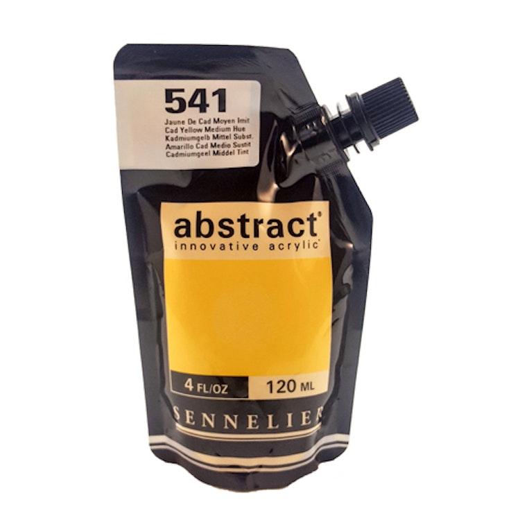 Akrylfärg Sennelier Abstract - Hög pigmentering - Cad Yellow Medium Hue 541
