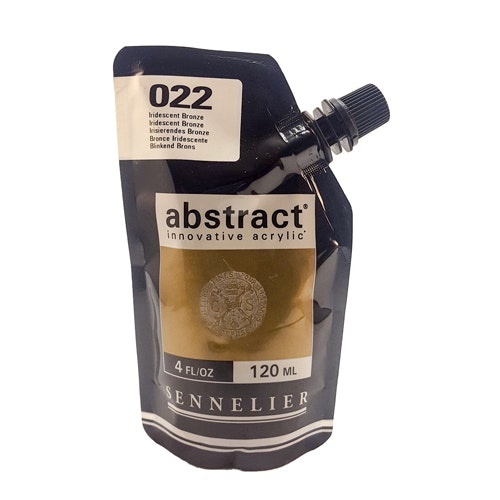 Akrylfärg Sennelier Abstract - Hög pigmentering - Iridescent Bronze 022