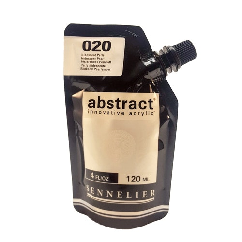 Akrylfärg Sennelier Abstract - Hög pigmentering - Iridescent Pearl 020