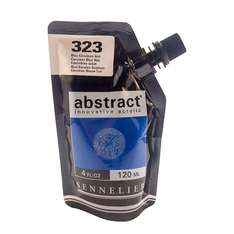 Akrylfärg Sennelier Abstract - Hög pigmentering - Cerulean Blue Hue 323