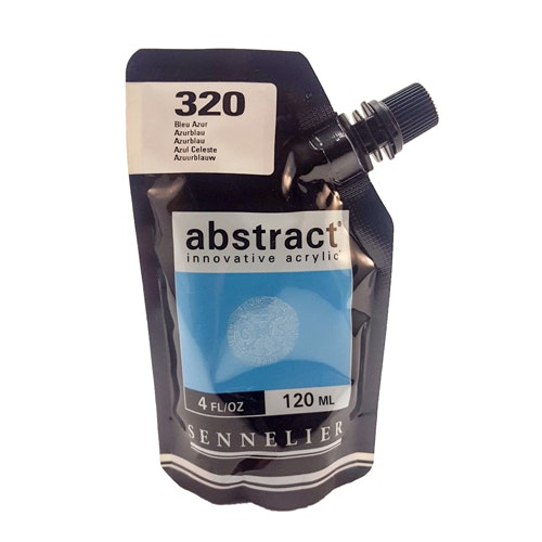 Akrylfärg Sennelier Abstract - Hög pigmentering - Azure Blue 320