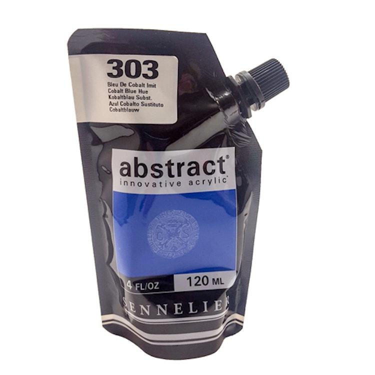 Akrylfärg Sennelier Abstract - Hög pigmentering - Cobalt Blue Hue 303