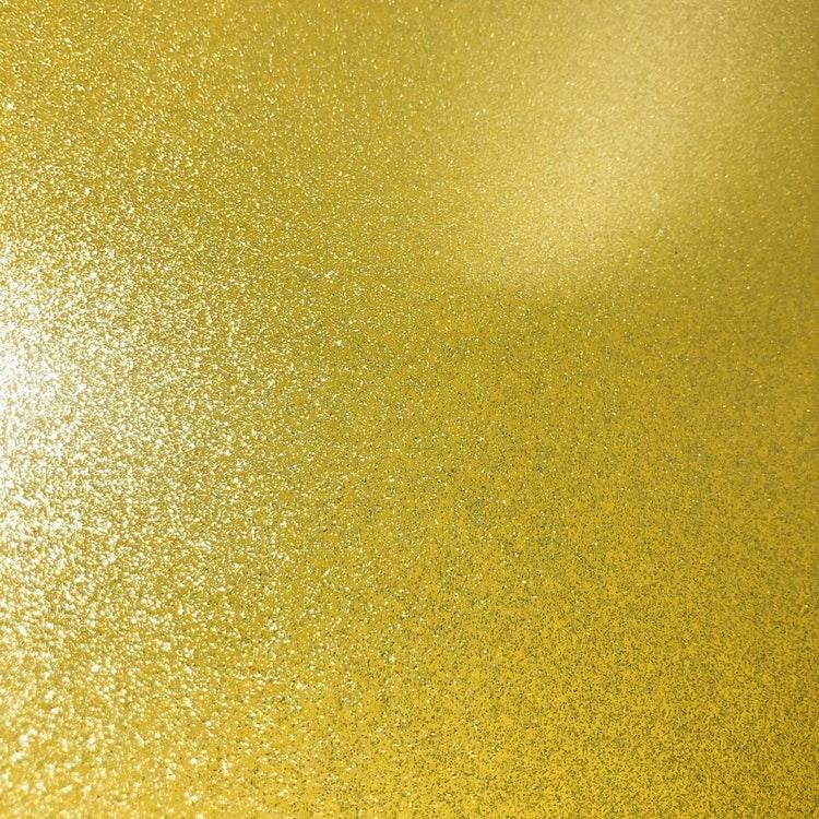 SISER Sparkle Gold star - SK0020