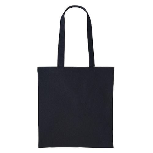 Textilkasse enkel - Black 02
