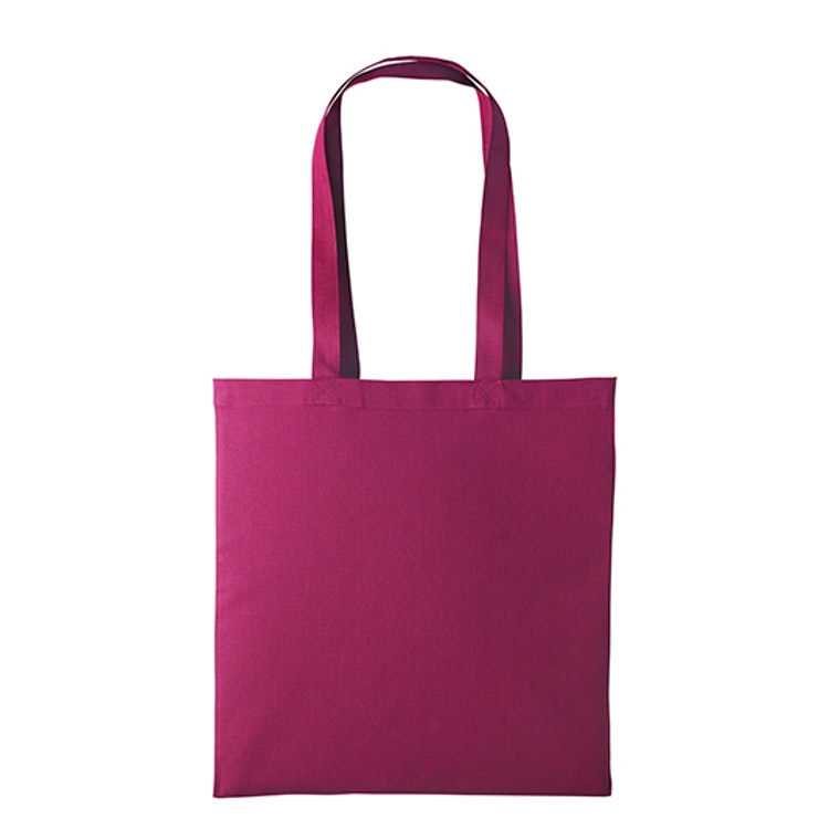 Textilkasse enkel - Cranberry 06