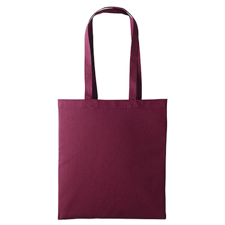 Textilkasse enkel - Burgundy 04