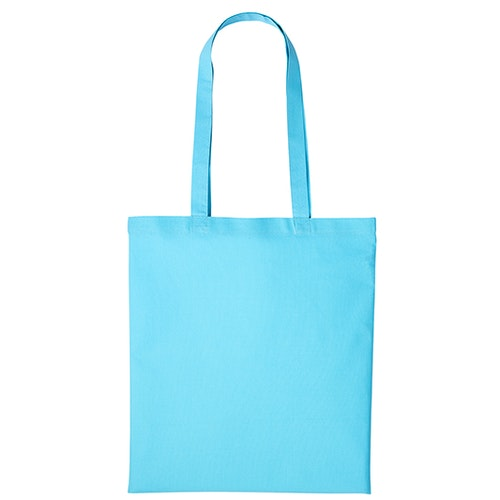 Textilkasse enkel - Turquoise 44
