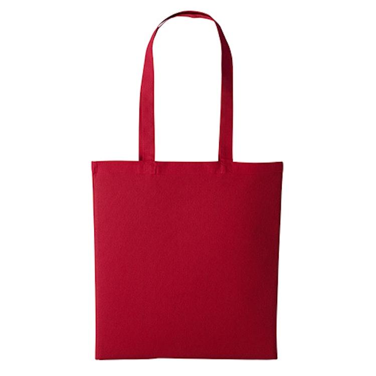 Textilkasse enkel - Red 08