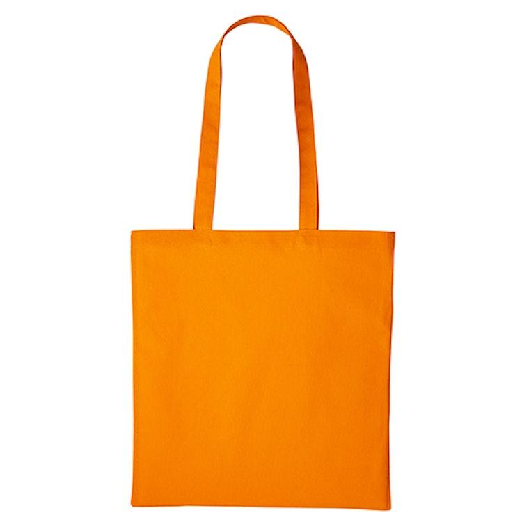 Textilkasse enkel - Orange 25