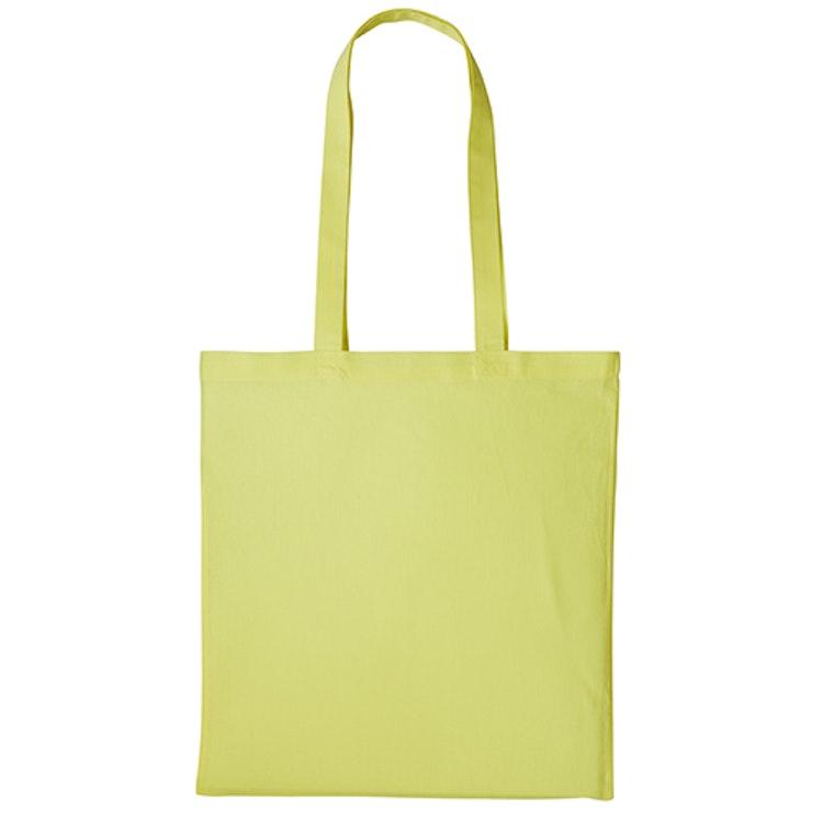 Textilkasse enkel - Pastel Lemon 30
