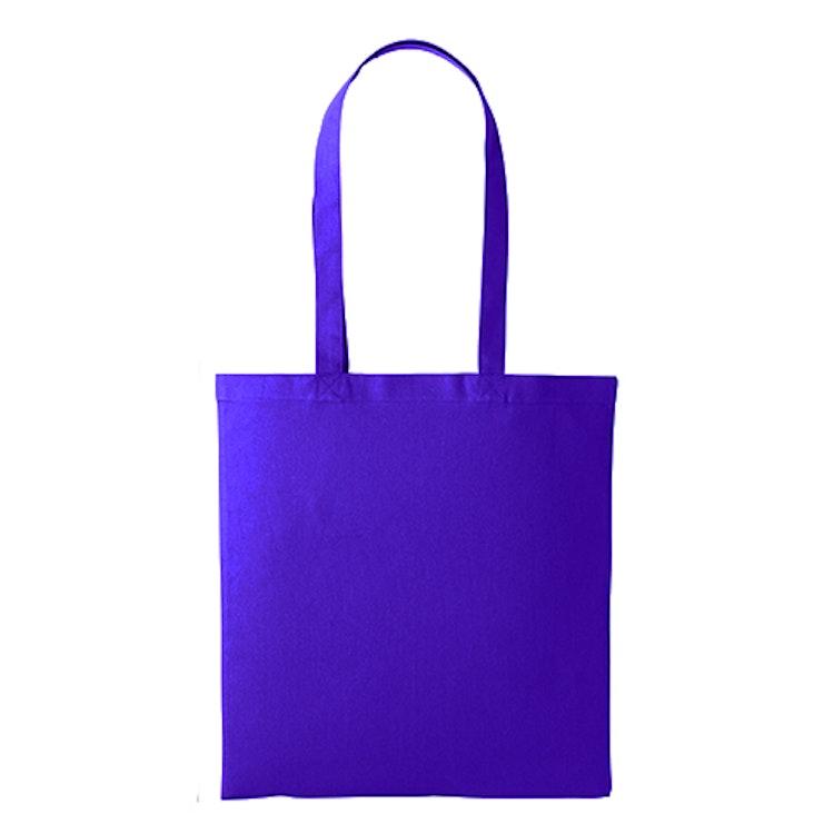 Textilkasse enkel - Purple 35