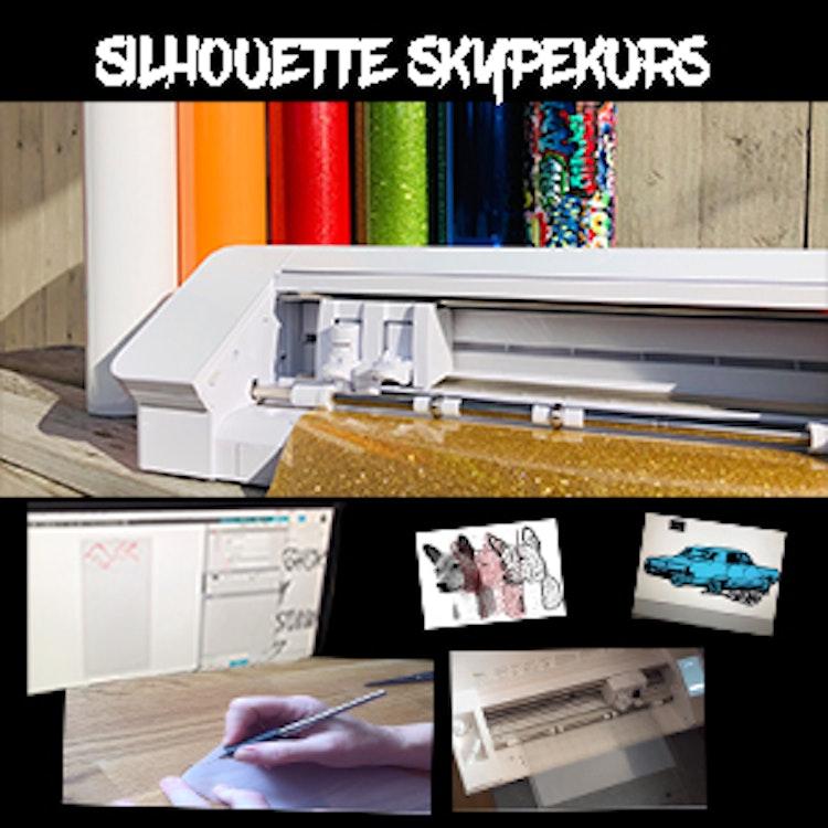 DLRS - silhouettekurs On-Line (Skype) måndagar 20,30 se kursprogram på FB