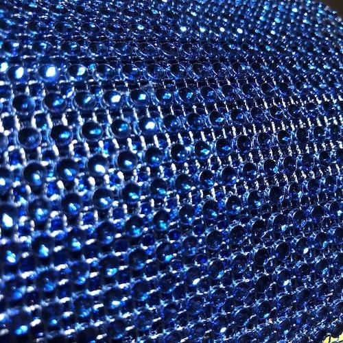 Strassband - kornblå