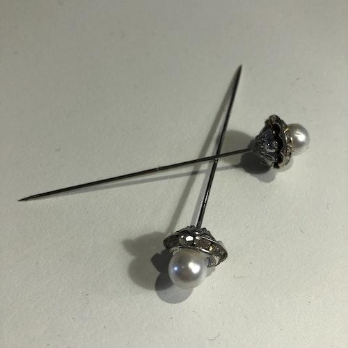Diamantpärlnål1,5x7cm 1 st