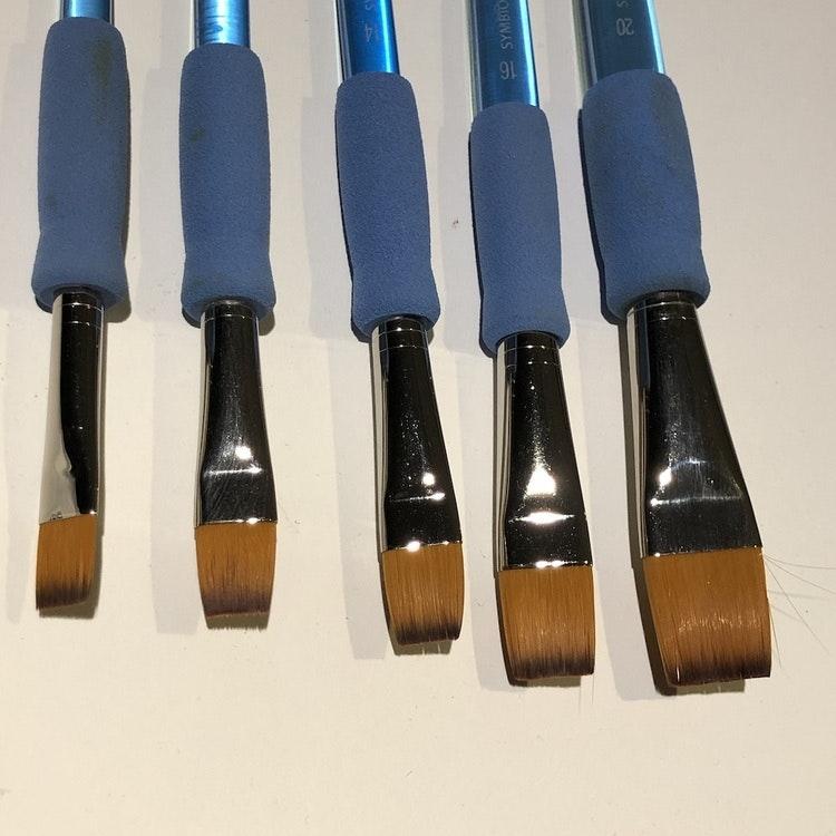 Ergonomisk Syntet pensel - Symbiose