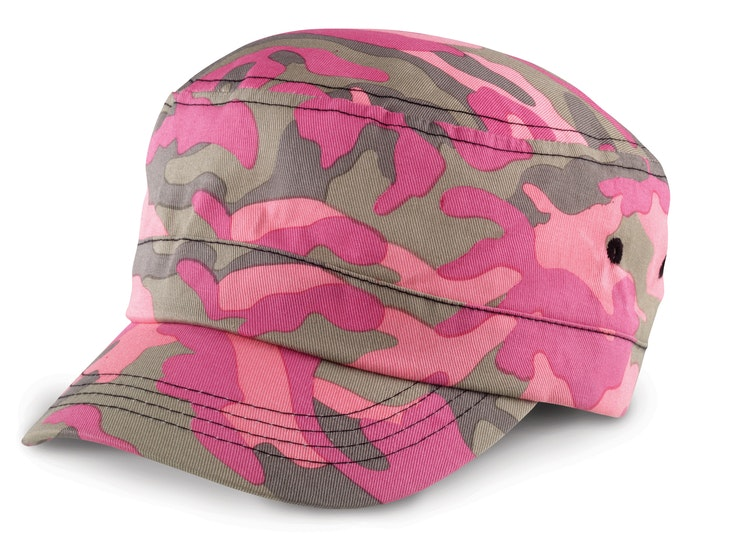 Keps - Kamoflage - Rosa