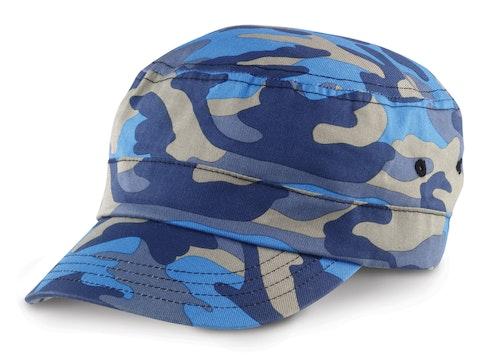 Keps - Kamoflage - Blå