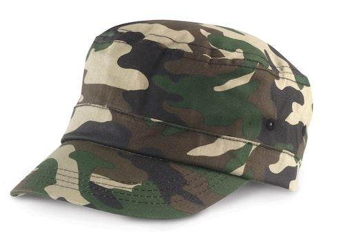 Keps - Kamoflage - Grön