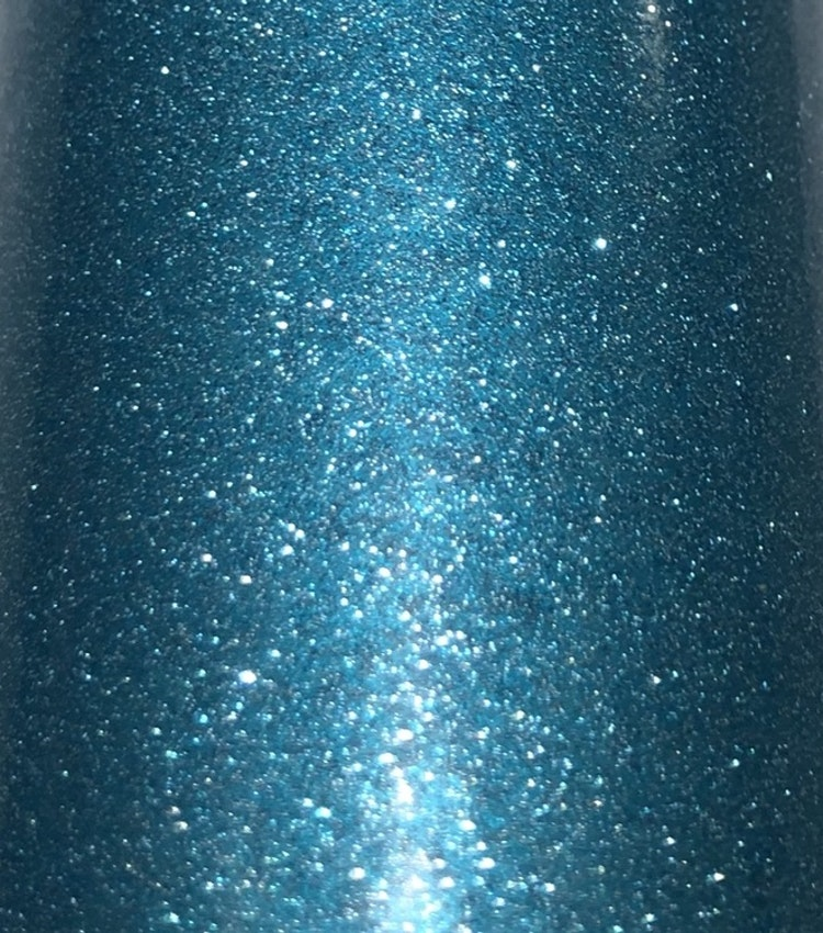Glitter - Turkos